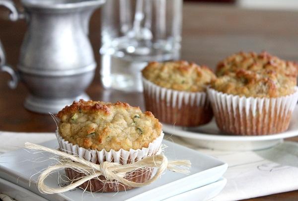Almond Flour Gluten-Free Zucchini Muffins