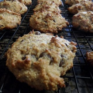 chocolate chunk almond flour scones
