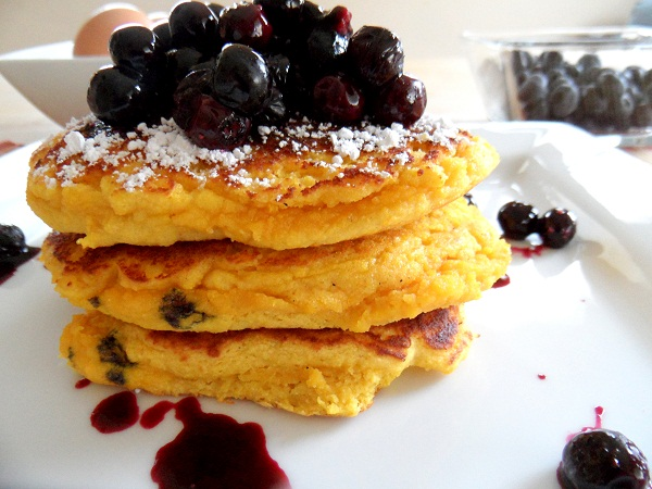 Blueberry coconut flour pancakes for one blueberry coconut flour pancakes for one ccuart Images