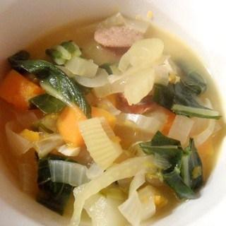 Italian Sausage, Fennel, & Butternut Squash Soup