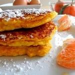Citrus Coconut Flour Pancakes (gluten-free)