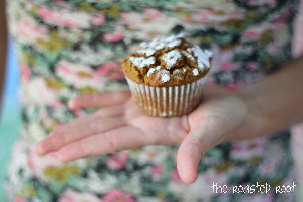 Gluten free pumpkin muffins - - - > https://www.theroastedroot.net