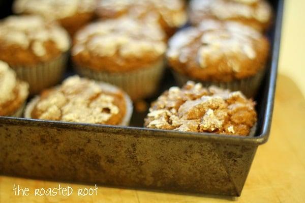 Gluten free pumpkin muffins - - - > https://www.theroastedroot.net