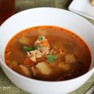 Turkey & Root Vegetable Soup