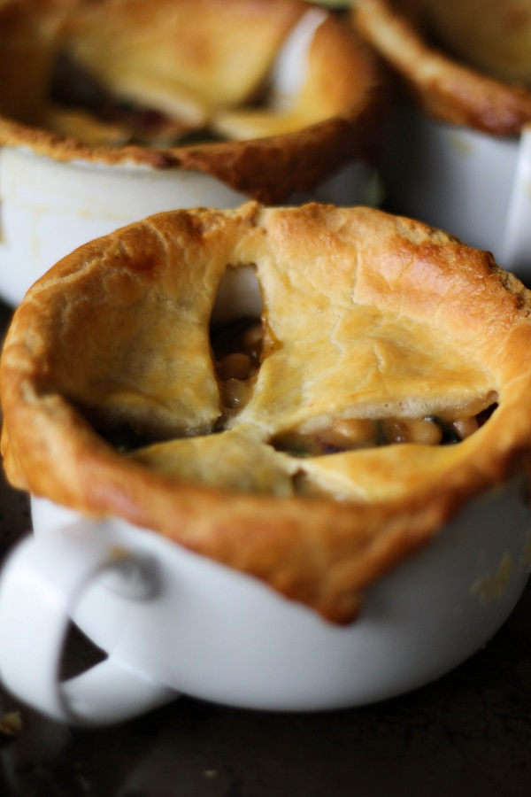 Pancetta, White Bean & Chard Pot Pies - A Smitten Kitchen Recipe - The ...
