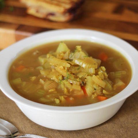 Fennel & Rice Soup