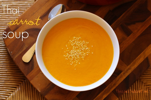Curry Carrot Soup | https://www.theroastedroot.net