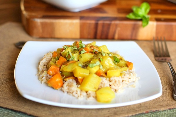 Thai root vegetable curry the roasted root thai vegetable curry forumfinder Choice Image