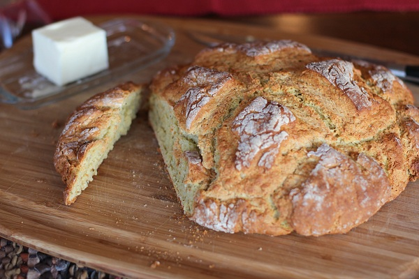 Cheese & Herb Irish Soda Bread