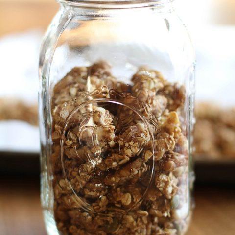 Homemade Walnut Granola
