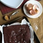 Chocolate Beet Cake - gluten-free and refined sugar-free, made with almond flour | TheRoastedRoot.net #dessert #glutenfree