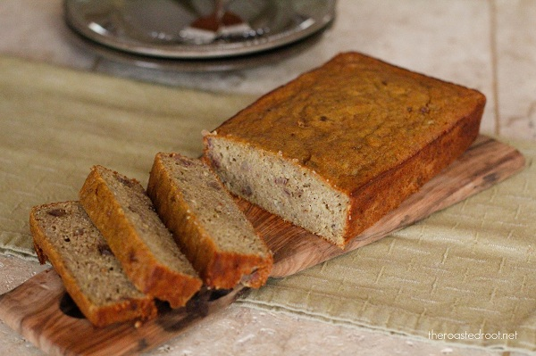 Gluten-Free & Naturally Sweetened Banana Bread   www.theroastedroot ...