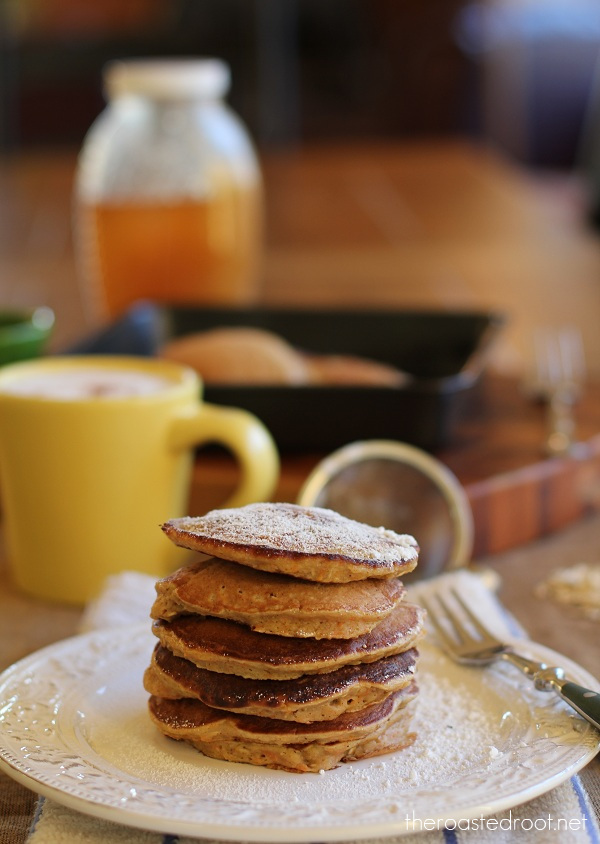 Gluten Free Morning Glory Pancakes