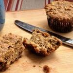 Oatmeal Walnut Muffins
