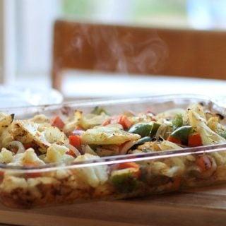 Cajun Seasoned Roasted Vegetables