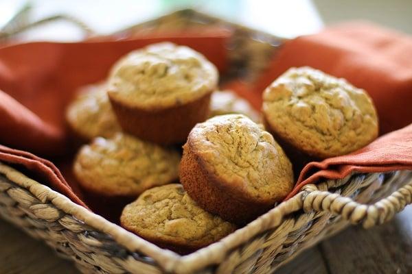 Gluten-free banana walnut muffins | www.theroastedroot.net