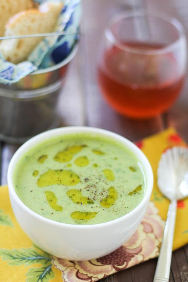Kale & Artichoke Soup