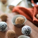 Raw Vegan Chocolate Truffles | www.theroastedroot.net