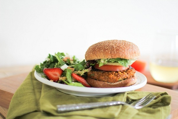Sweet Potato Veggie Burgers | http://www.theroastedroot.net