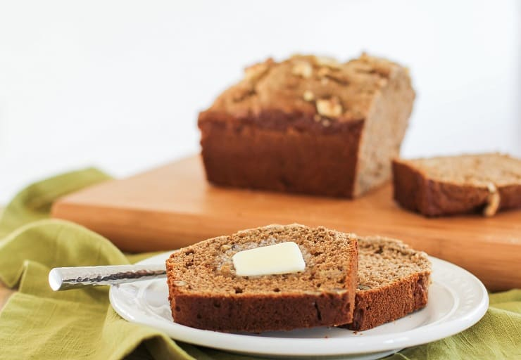 how to make vegan sourdough banana bread