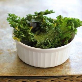 Baked Kale Chips | http://www/theroastedroot.net