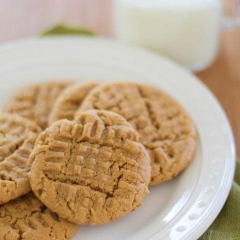 Gluten free peanut butter cookies   https://www.theroastedroot.net