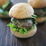 Chimichuri Beef Sliders | https://www.theroastedroot.net