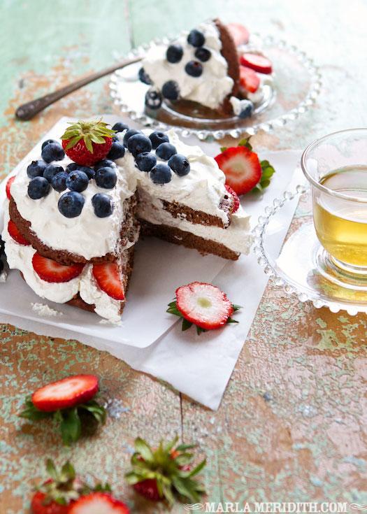 Family Fresh Cooking - Gluten Free Chocolate Pancake Layer Cake