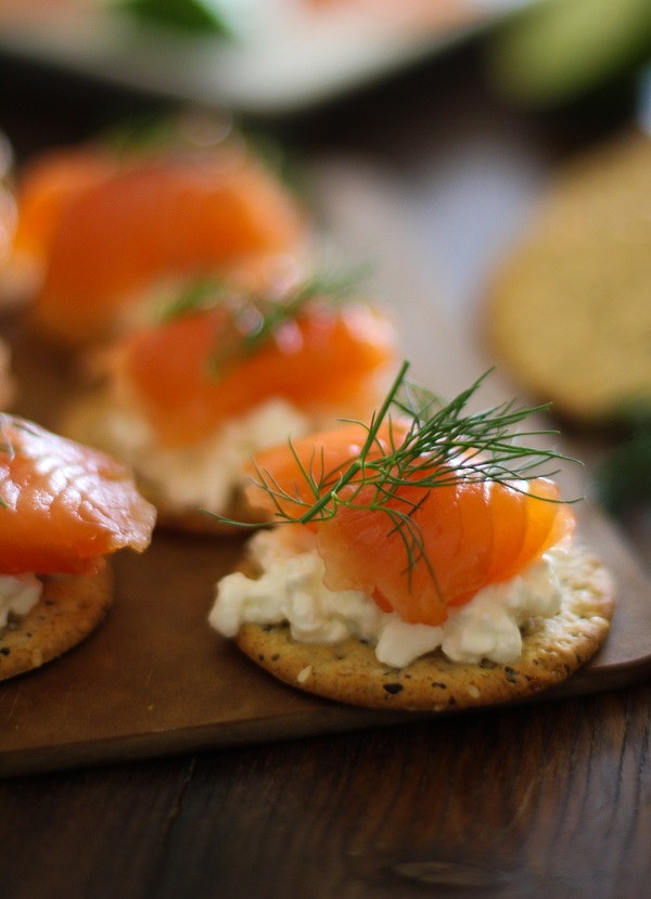 Swedish Gravlax (cured salmon) | http://www.theroastedroot.net