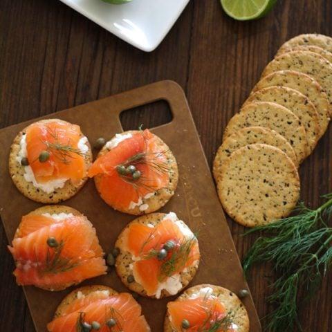 Swedish Gravlax (cured salmon) Recipe | https://www.theroastedroot.net