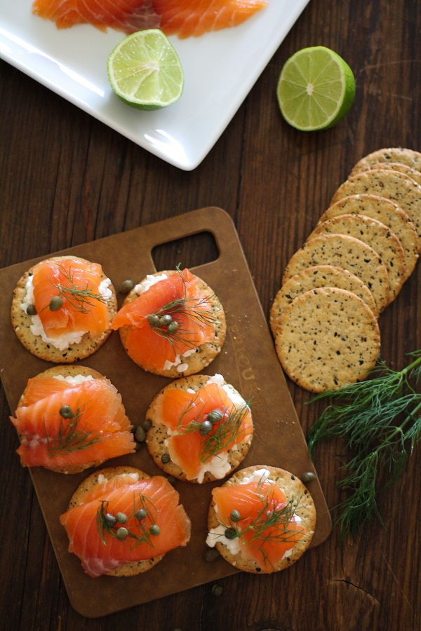 Swedish Gravlax (cured salmon) Recipe | https://www.theroastedroot.net