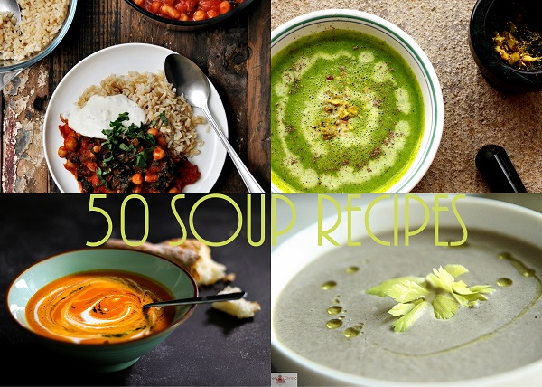 50 Soup, Stew and Chili Recipes