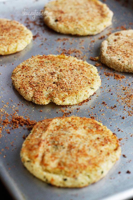 Parmesan Leftover Mashed Potato Patties from Skinny Taste + 50 Thanksgiving Leftover Recipes