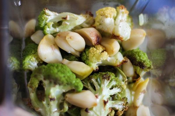 Roasted Cauliflower and Garlic Soup   www.theroastedroot.net