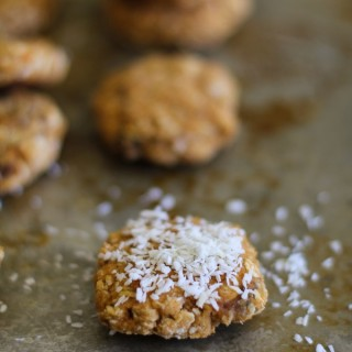 Coconut Sweet Potato Breakfast Cookies