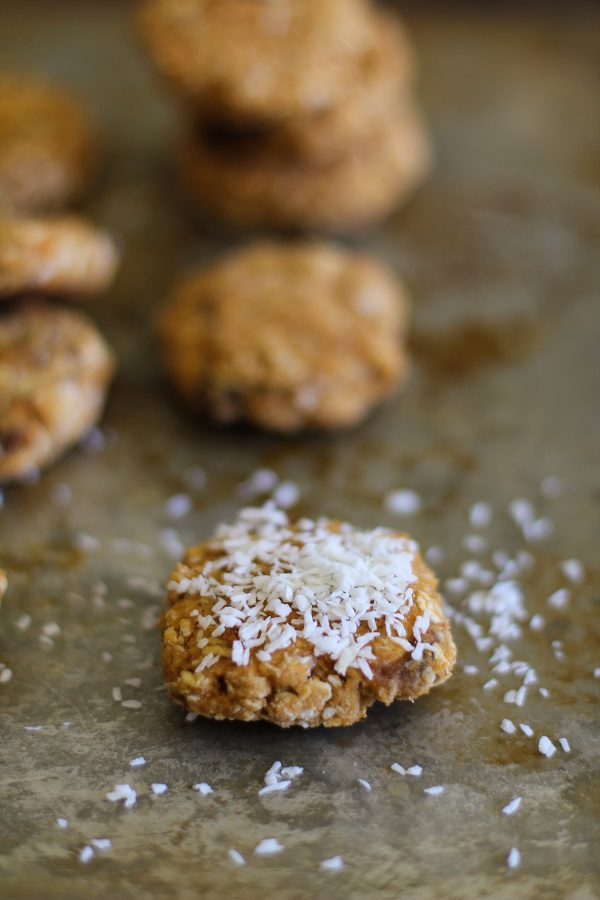 Coconut Sweet Potato Cookies - gluten free, and naturally sweetened | www.theroastedroot.net