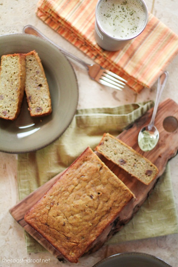 Gluten Free Banana Bread | www.theroastedroot.net