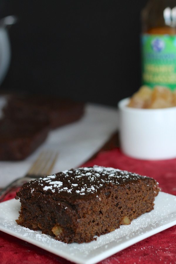 Double Gingerbread Cake from Stephie at Eat Your Heart Out | www.theroastedroot.net