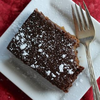 Double Gingerbread Cake by Stephie from Eat Your Heart Out | www.theroastedroot.net