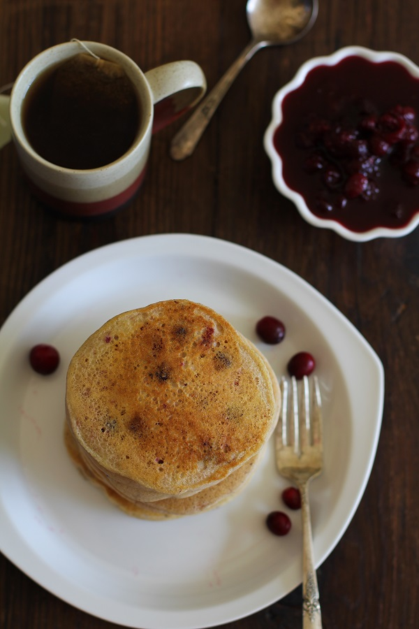 Leftover Cranberry Sauce Pancakes3
