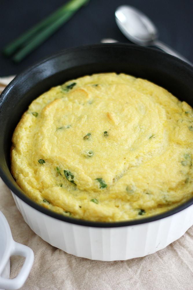 Buttermilk Spoonbread (gluten free) | www.theroastedroot.net