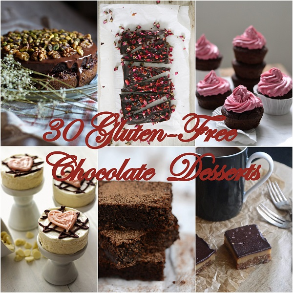 30 Gluten-Free Chocolate Desserts | www.theroastedroot.net