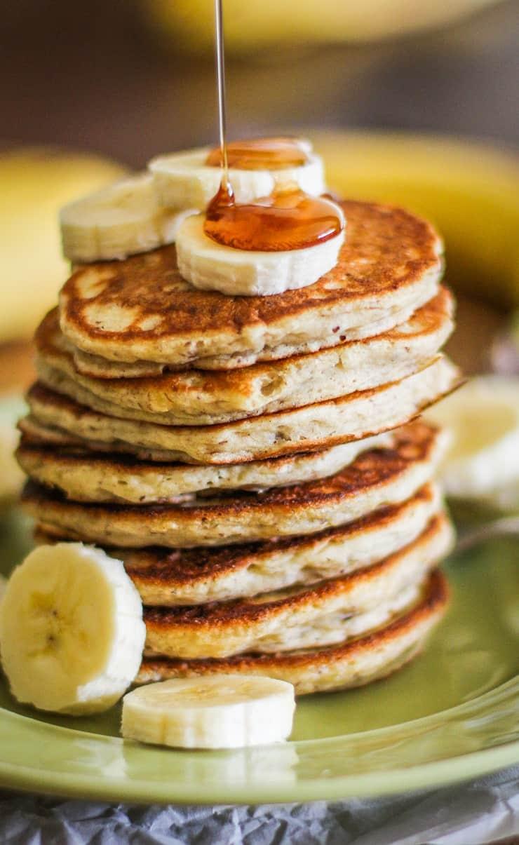 Gluten-Free Vegan Banana Pancakes