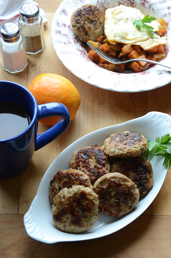 Apple Onion Chicken Breakfast Sausage (paleo)