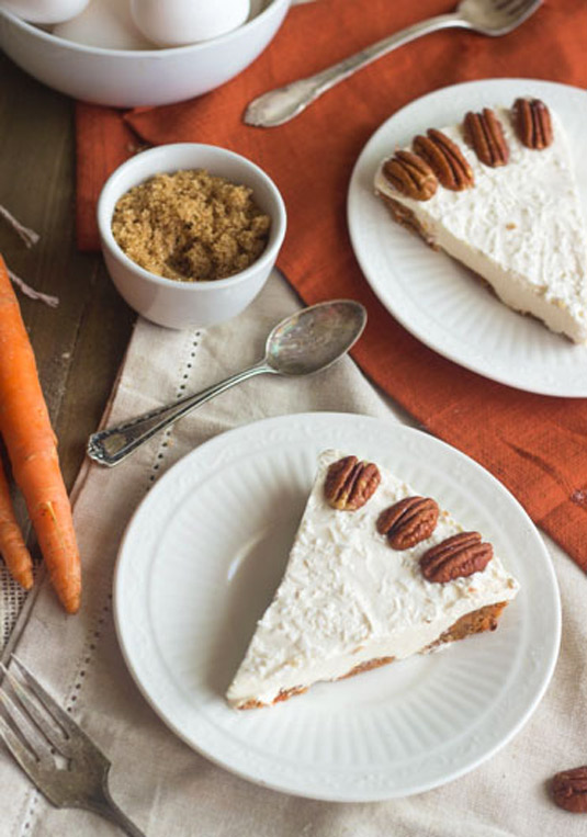 Carrot Cake Cheesecake (gluten-free)