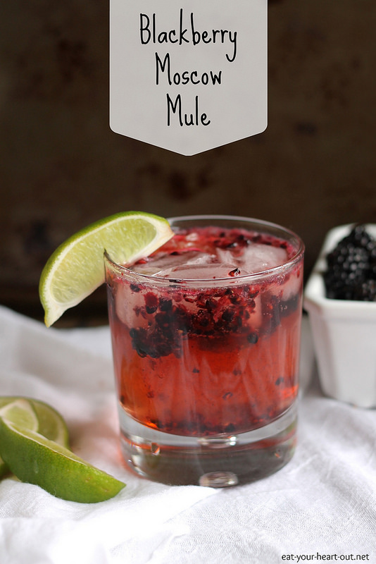 Blackberry Moscow Mule