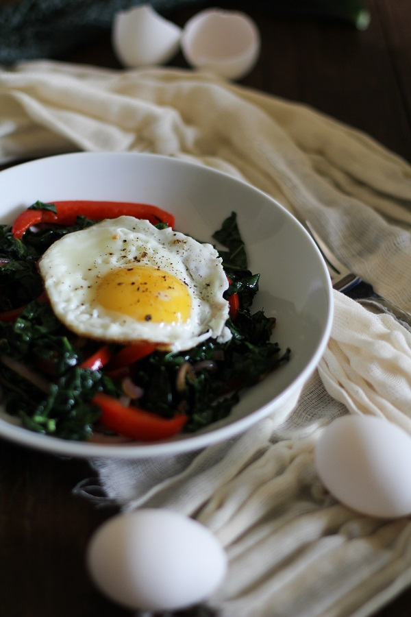 Kale Breakfast Bowls