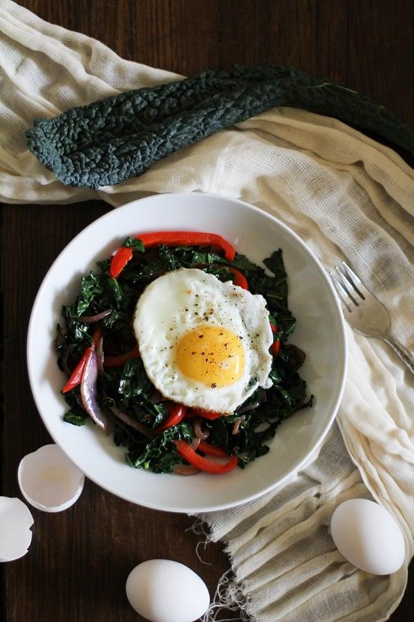 Kale Breakfast Bowls