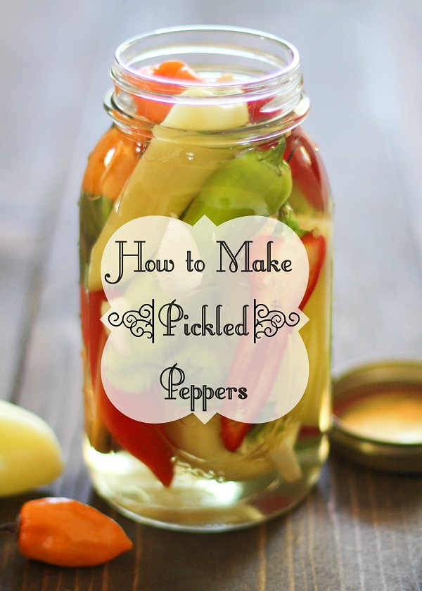 How to Make Pickled Peppers