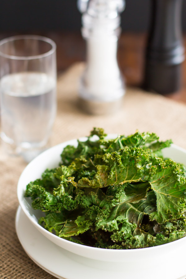 Baked Kale Chips + 50 Out-of-This-World Kale Recipes